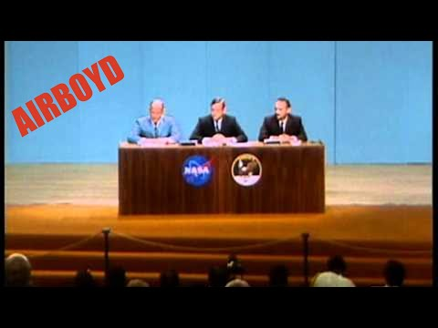 Apollo 11 Post Flight Press Conference (1969)