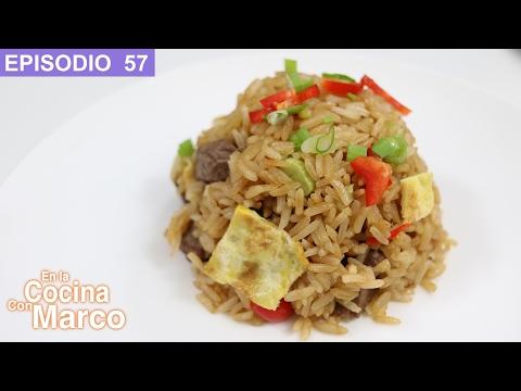 Arroz Chaufa Peruano - Receta Chifa Peruana (fried Rice)
