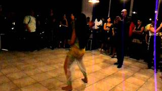 Chayenne Sabajo performing Chutney Bacchanal @ meet and greet Miss teen suriname 2011