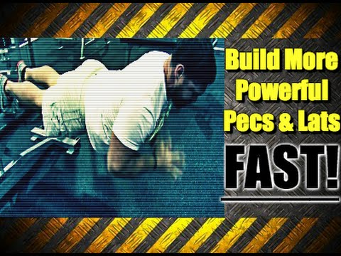 Performance Bodybuilding Routine For Building Powerful Chest & Back Mass