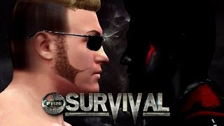 WWE 2K16 - FaM Survival Official Match Card
