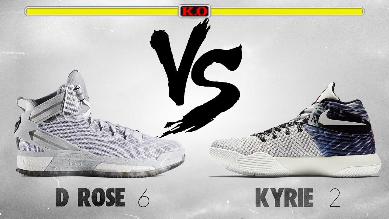 Adidas D Rose 6 VS. Nike Kyrie 2! - YouTube b90923032