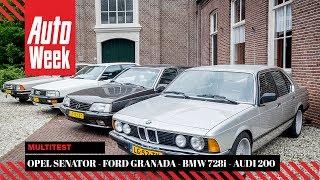 Opel Senator - Ford Granada - BMW 728i - Audi 200