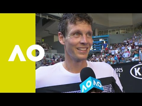 Tomas Berdych on-court interview (1R) | Australian Open 2019