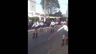 Desfile Estudiantil Ñemby Agosto 2016 Colegio Jose Meza