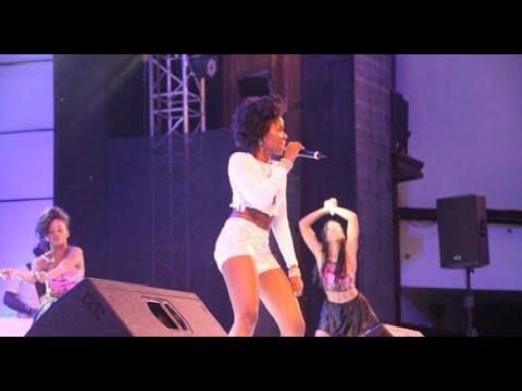 MzVee performs her new song at 2015 Ghana Meets Naija Concert