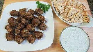 Greek Meatballs (keftedes) With Tzatziki Sauce From Yummeo: Season 2