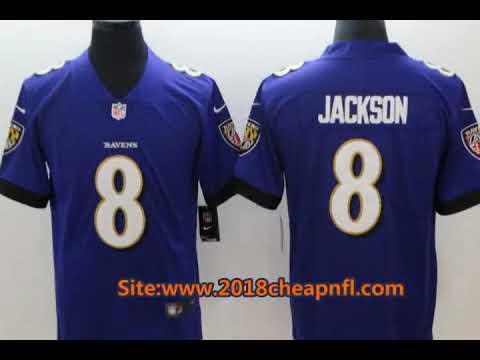 finest selection 66abc 4c537 Featured Baltimore Ravens 8 Lamar Jackson Cheap NFL Jerseys