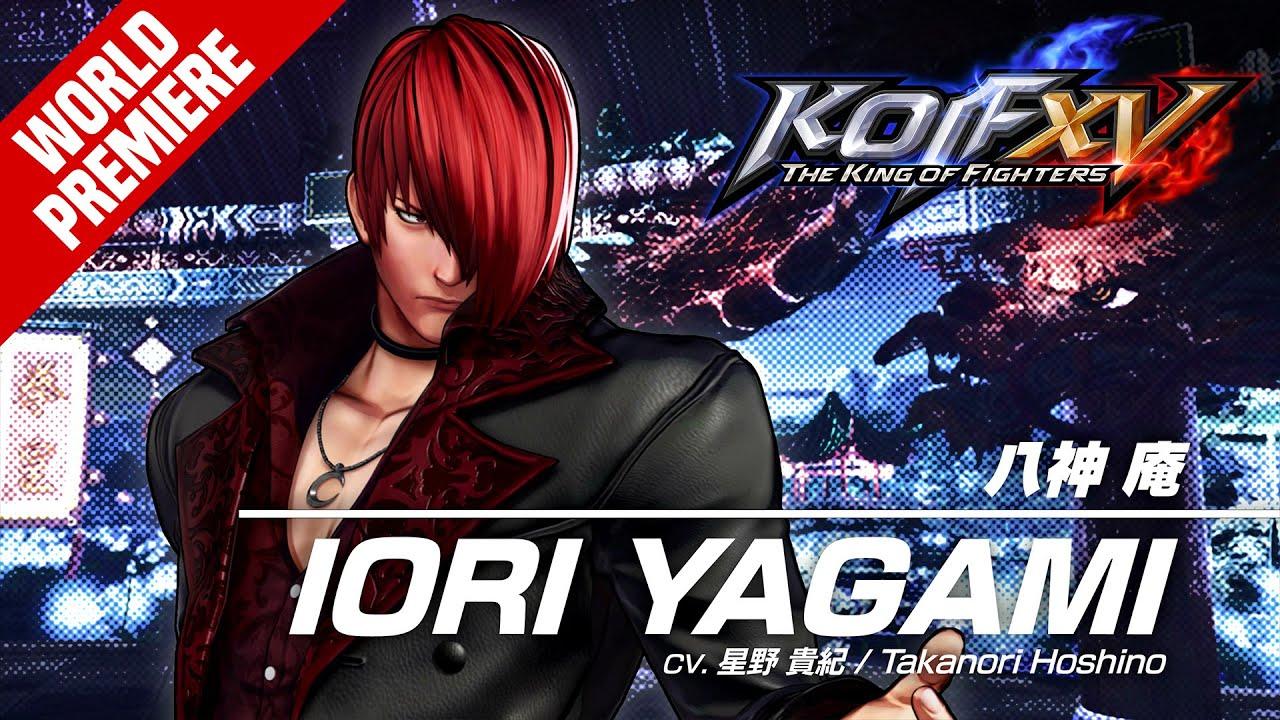 KOF XV IORI YAGAMI Character Trailer #4 (4K)