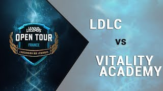 LOL Open Tour France - Team LDLC vs Vitality Academy - Finale