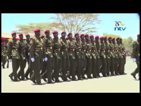 President Kenyatta presides over GSU pass out parade; warns leaders against preaching violence
