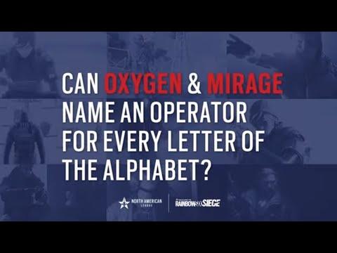 NAL 2021 - Operator Alphabet Challenge: Oxygen vs Mirage