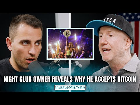 Night Club Owner REVEALS Why He Started Accepting Bitcoin   Marc Roberts   Pomp Podcast CLIPS