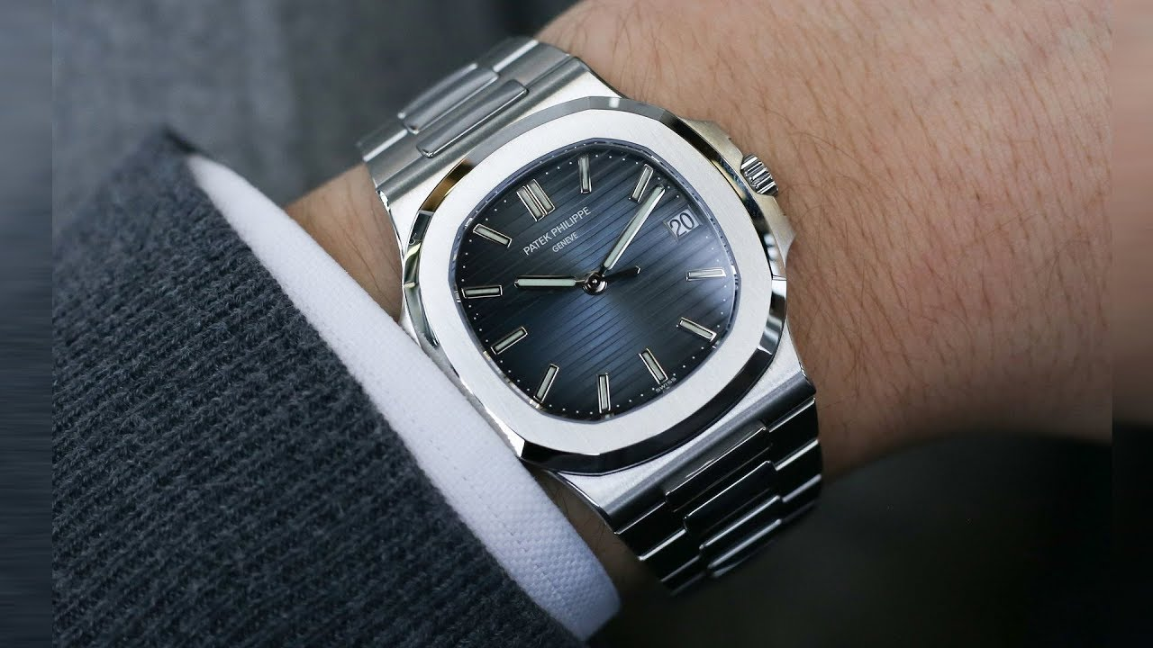 Patek Philippe Nautilus 5711 1a 010 Blue Dial 40 Mm Stainless Steel