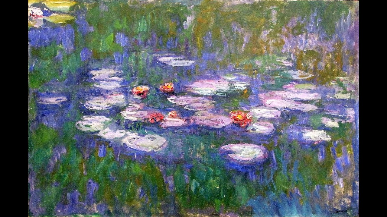 Monet's Water Lilies - YouTube
