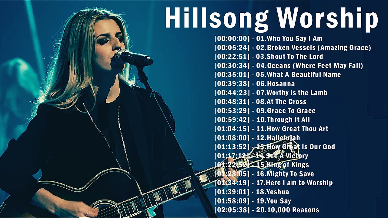 ✝️2 Hours Hillsong Worship Songs Top Hits 2021 Medley ✝️ Nonstop Christian Praise Songs Collection