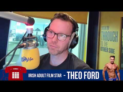 Dermot & Dave Chat To Irish Adult Film Star Theo Ford