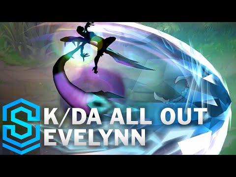 K/DA ALL OUT Evelynn Skin Spotlight - League of Legends