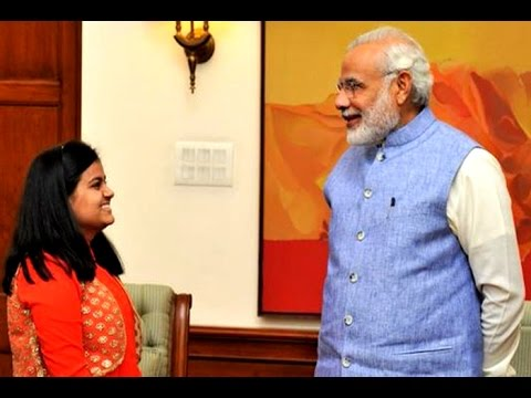 Indian Idol Junior winner Ananya meets PM Narendra Modi