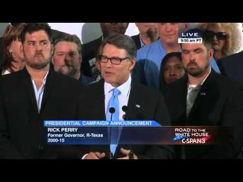 Rick Perry 2016 announcement June 4, 2015
