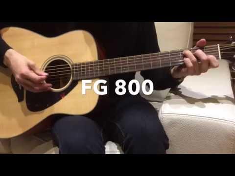 Yamaha FG 800 Blogger review