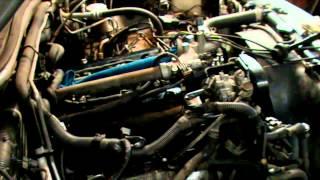 Mitsubishi Pajero Sport I 3.0. Замена свечей зажигания.
