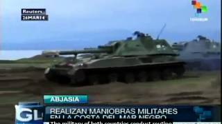 Russian military starts training exercises with Abkhazia troops