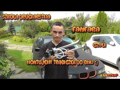 Szkoła Druciarstwa Fanfara Czyli Montujemy Trąbiczek Do BMW Wazzup :)