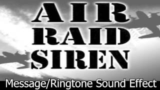 Air Raid Siren Sound Effect