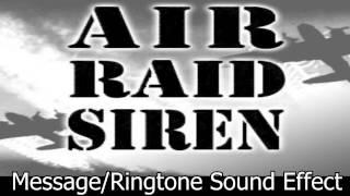 Air Raid Siren Sound Effect