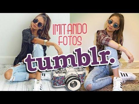 IMITANDO FOTOS TUMBLR - Na mala da Mila