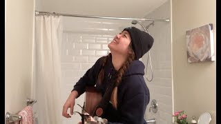 I Don't Want To  - Alessia Cara (HOLZ cover) | Bathroom Series #2