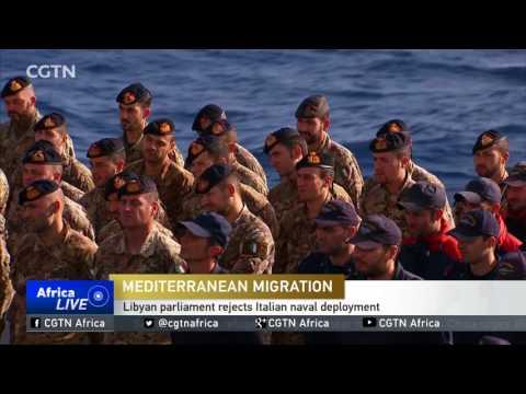 Libyan parliament against deployment of Italian ships