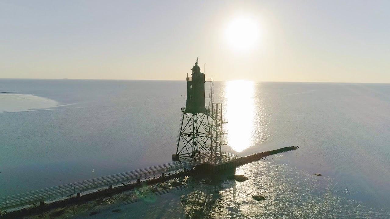 Luftaufnahmen von Dorum/Wurster Nordseeküste 3