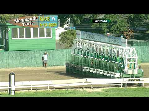 video thumbnail for MONMOUTH PARK 09-13-20 RACE 9
