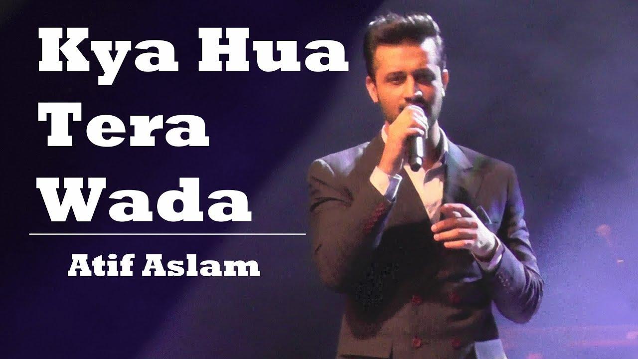 Kya Hua Tera Wada Violin Cover By Atif Aslam Live In The Netherlands Mohd Rafi Songs Tribute Youtube