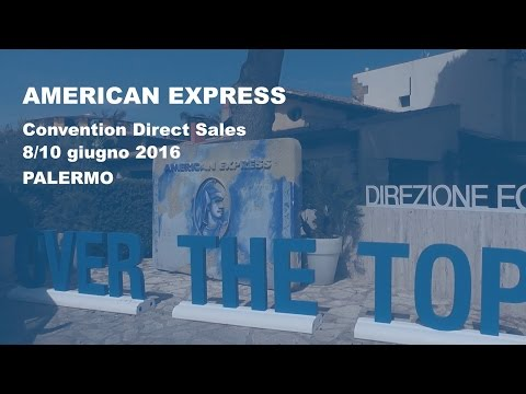 Convention Direct Sales American Express 2016