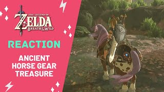 REACTION: Ancient Horse Gear in Satori Mountain | Legend of Zelda: Breath of the Wild | Zoe Stoller