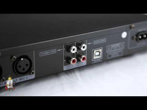 Acesonic KM-112 Karaoke Mixer Kit for iPad/iPod/iPhone