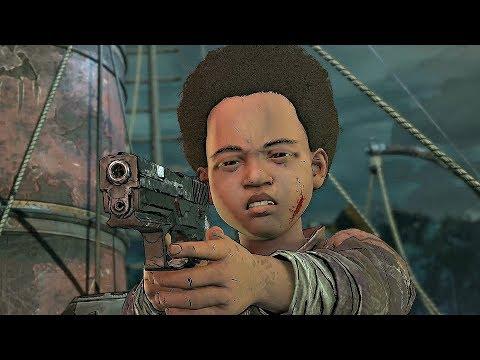 The Walking Dead Final Season - AJ Kills Lilly Ending (Episode 3)