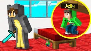TINY HIDE And SEEK In SLOGO'S BEDROOM! (Minecraft)