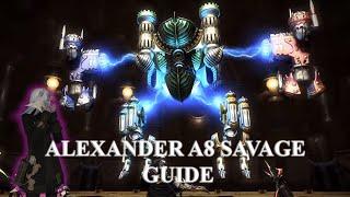 ffxiv heavensward alexander midas a8 savage guide le fardeau du fils