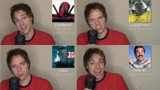 DEADPOOL 2 IMPRESSIONS! (Cable, Firefist, Juggernaut, Colossus)