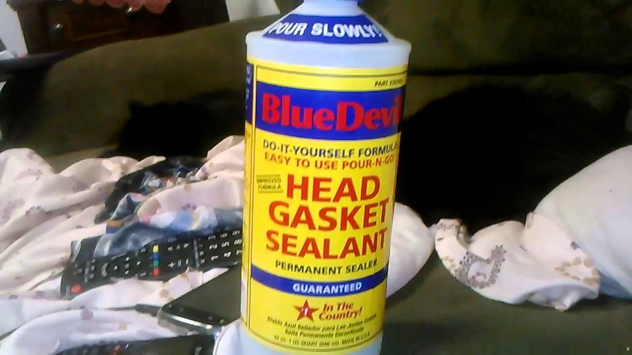 Blue Devil Head Gasket Sealant Works Youtube