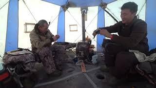 30 минут 100% рыбалки на Севере Якутии! Массаж для Ваших глаз.