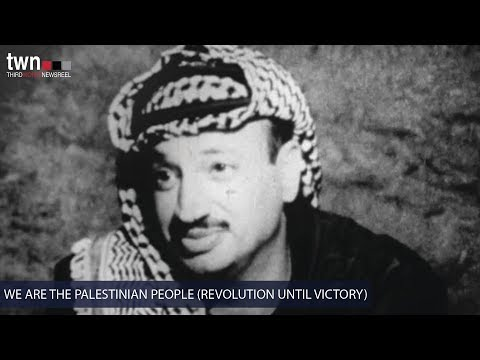 We Are the Palestinian People (Newsreel #65) - Trailer - TWN