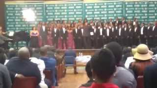 "UWC Creative Arts Choir - Addio mia patria/De ""profundis"" by G. Verdi N.C.F Regionals 2015"