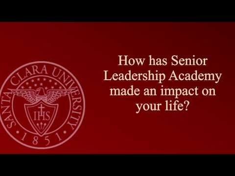 How has Senior Leadership Academy made an impact on your life