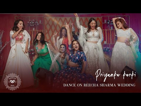 Download Priyanka Karki Dance on Reecha Sharma Wedding   Wedding City Nepal