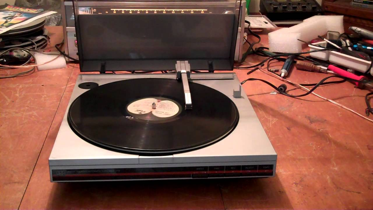 ADC Linear Tracking Automatic Turntable  Record Player  ZCUCKOO